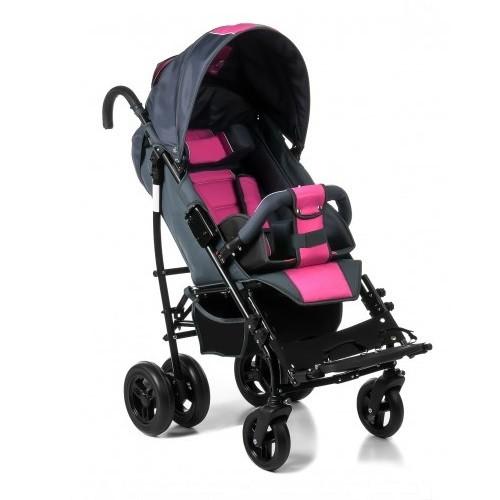 коляска амбрелла розовая